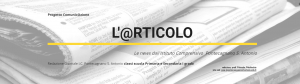Banner web giornale
